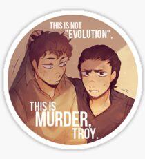 FearTWD - Troy & Nick Sticker Sticker