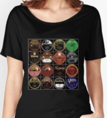 Vintage Records Women's Relaxed Fit T-Shirt