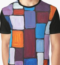 Composition | Abstract Painting Graphic T-Shirt