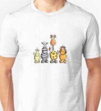 Cute African Animals Unisex T-Shirt