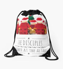 The disciples gather at the altar! Drawstring Bag