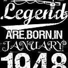 Fishing Legends Are Born In January 1948 by wantneedlove