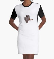 Agora Cultura - Mini logo Graphic T-Shirt Dress