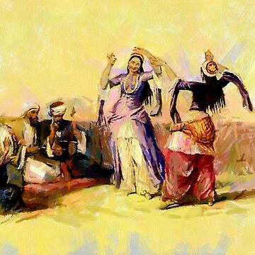 Ghawazee in Ancient Cairo, Egypt 1838 by ZipaC