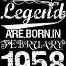 Fishing Legends Are Born In February 1958 by wantneedlove