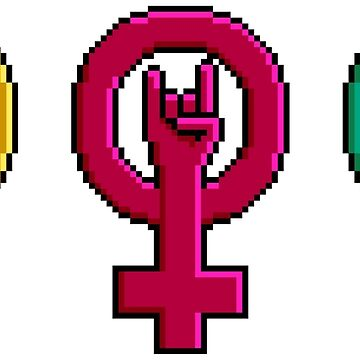 Riot Grrrl emblems by Rilly579