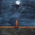 Cat's imagination by J sora
