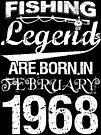 Fishing Legends Are Born In February 1968 by wantneedlove