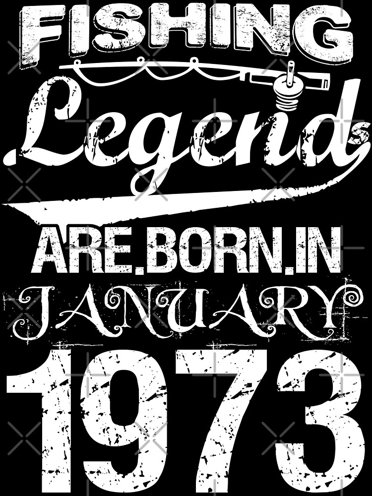 Fishing Legends Are Born In January 1973 by wantneedlove