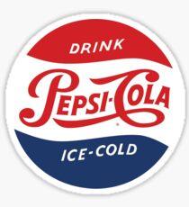 Vintage Pepsi Logo Sticker