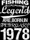 Fishing Legends Are Born In February 1978 by wantneedlove