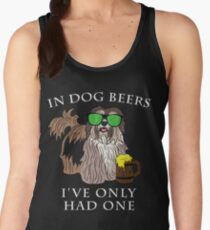 Havenese Ive Only Had One In Dog Beers Year of the Dog Irish St Patrick Day Women's Tank Top