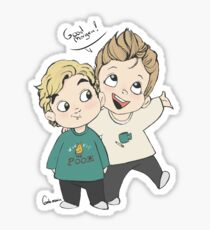 Skam cast | Henrik Holm and Tarjei Sandvik Moe Sticker