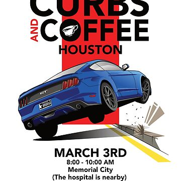 Ford Mustang Curbs And Coffee by 8800ag