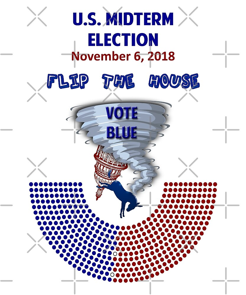 U.S. Midterm Elections Flip The House Tornando by Jecolds