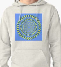 Optical illusion, visual phenomena, structure, framework, pattern, composition, frame, texture Pullover Hoodie