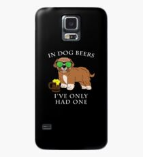 Maltipoo Ive Only Had One In Dog Beers Year of the Dog Irish St Patrick Day Case/Skin for Samsung Galaxy