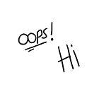 Oops! Hi Tattoo  by Hilaarya