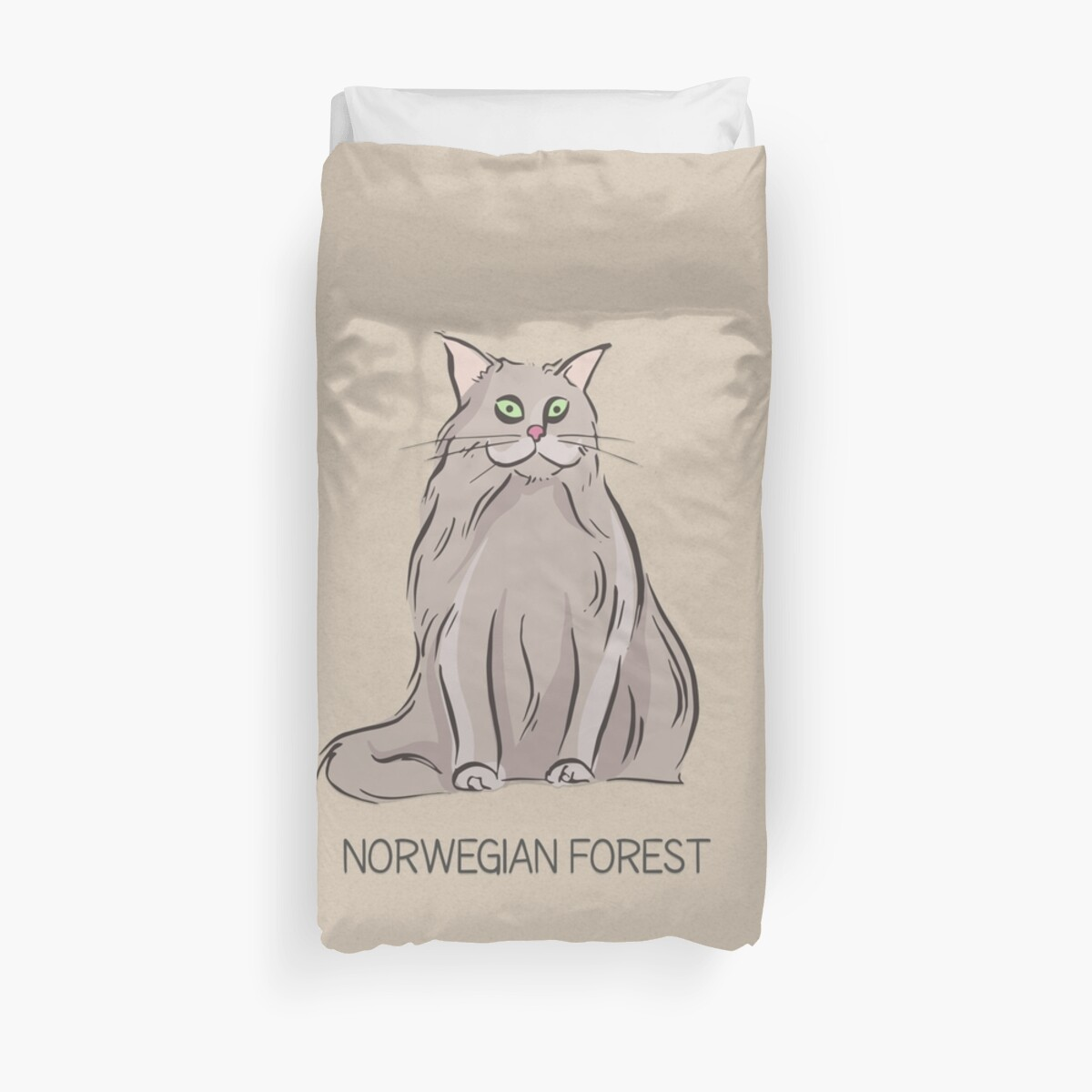 Norwegian Forest Cat by SoNifty