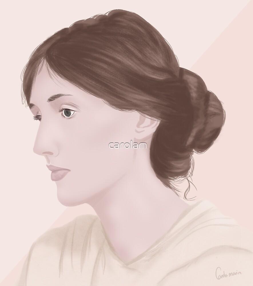 Virginia Woolf by carolam