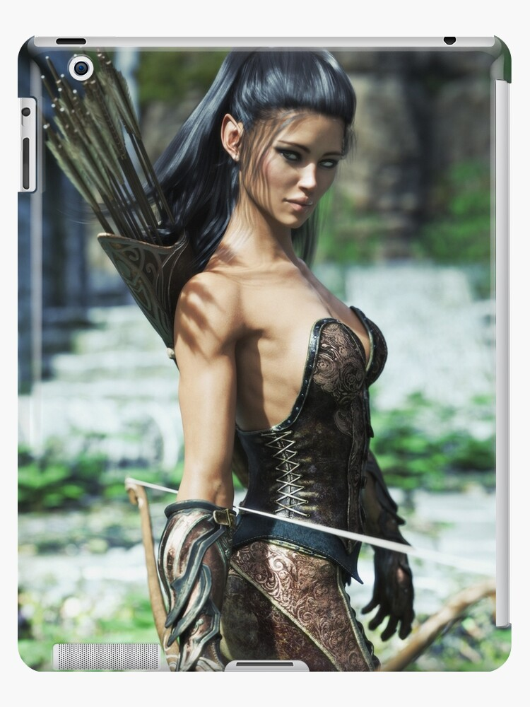 Apologise, but, Fantasy female archer