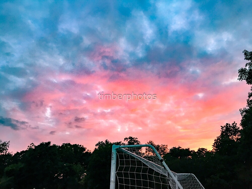 Soccer Sunsets by timberphotos