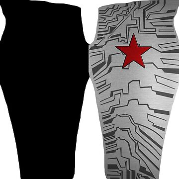 Winter Soldier Leggings by Shanique