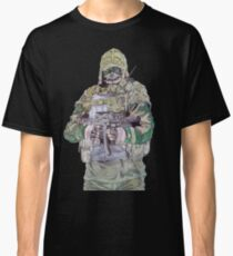 Kapkan from R6S no background Classic T-Shirt