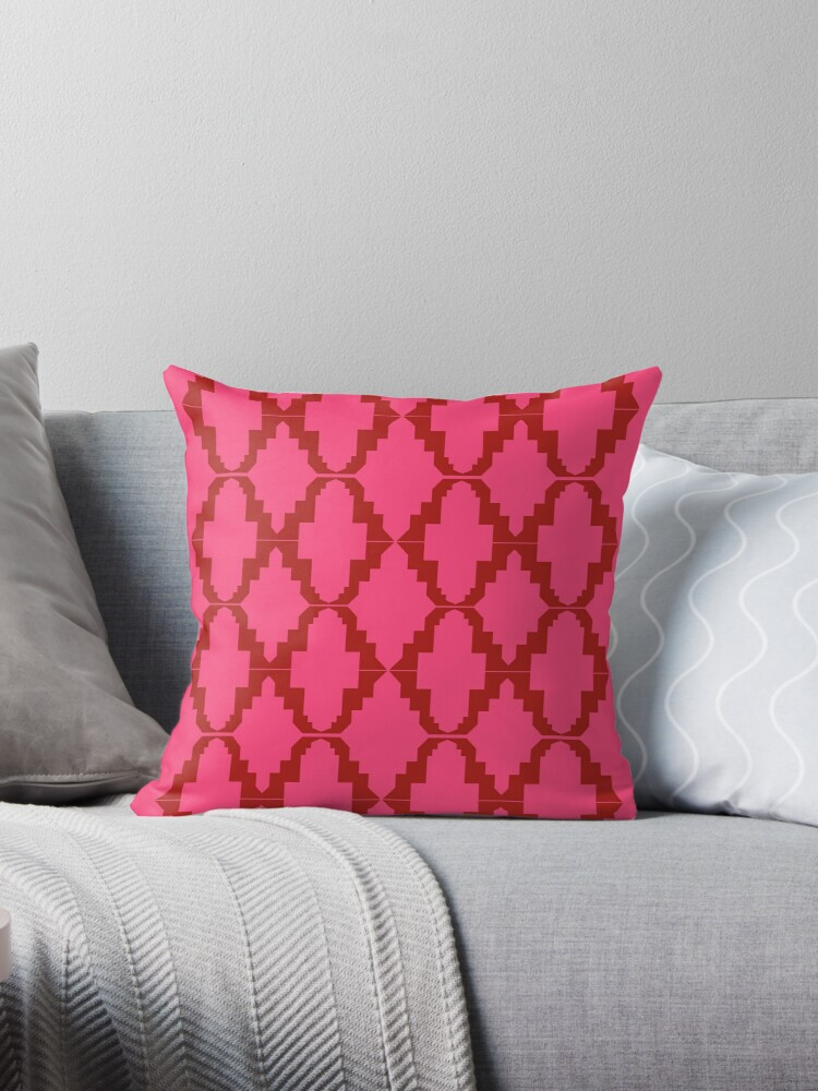 Design elements on pink by Bee and Glow Illustrations Shop