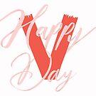 Fröhlichen Valentinstag von gingerish