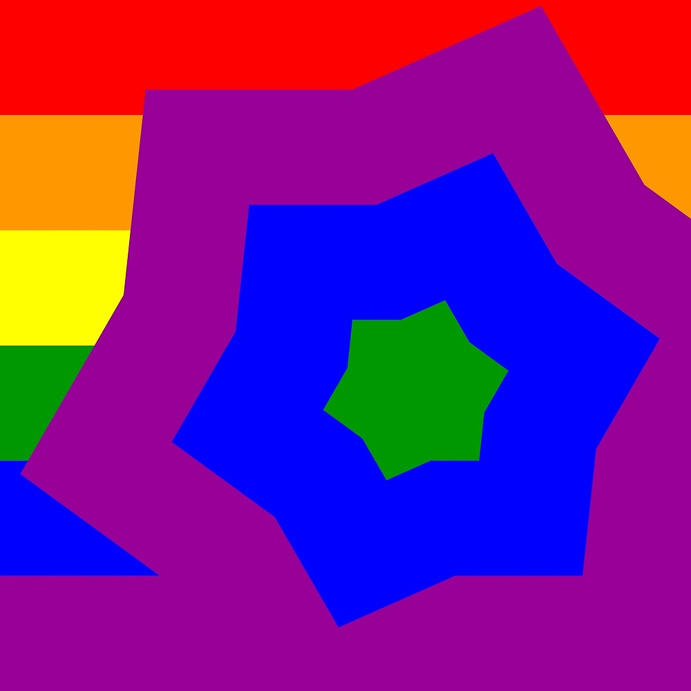 Gay Flag 38 by Jogreg