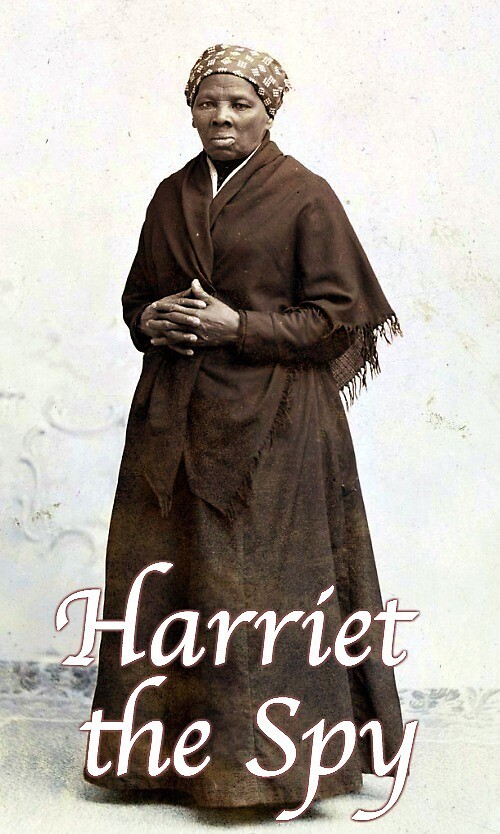 """Harriet the Spy"" ~ Harriet Tubman by Nancy Jewell"