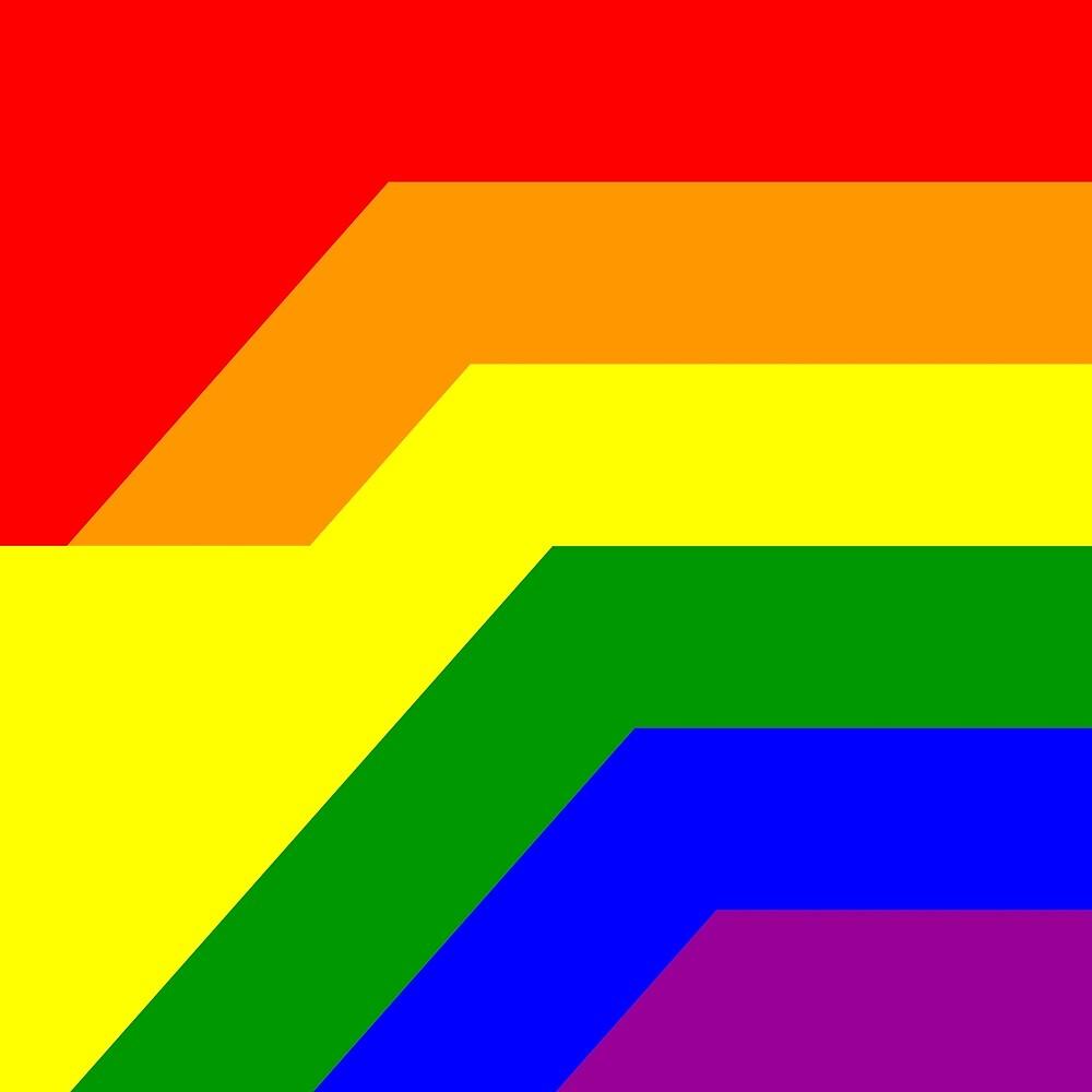 Gay Flag 43 by Jogreg
