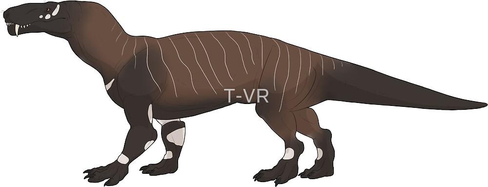 Gorgonopsid by T-VR