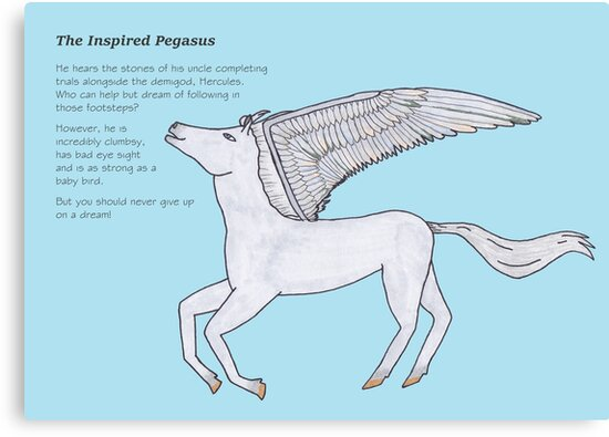 Inspired Pegasus by Bellubaloo