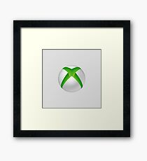 Xbox 360 Logo Framed Print