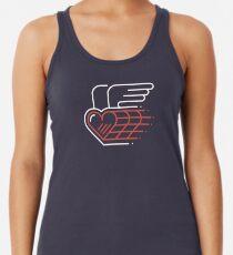 Winged Heart Racerback Tank Top