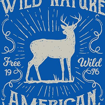 The Wild Nature American - Real Hunter - Free Wild - 1976 by flipper42
