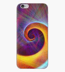 Fibonacci spiral, linify iPhone Case