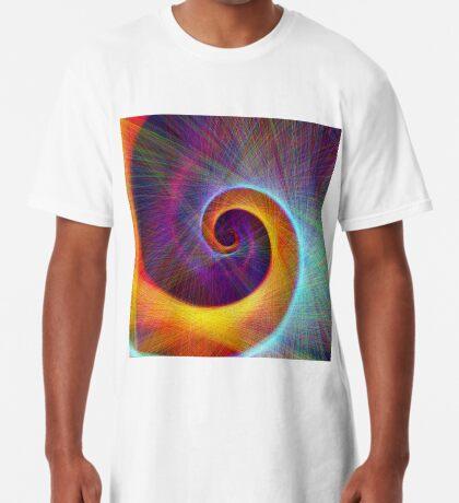 Fibonacci spiral, linify Long T-Shirt