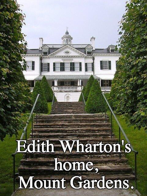 Mount Gardens ~ Edith Wharton's Home by Nancy Jewell