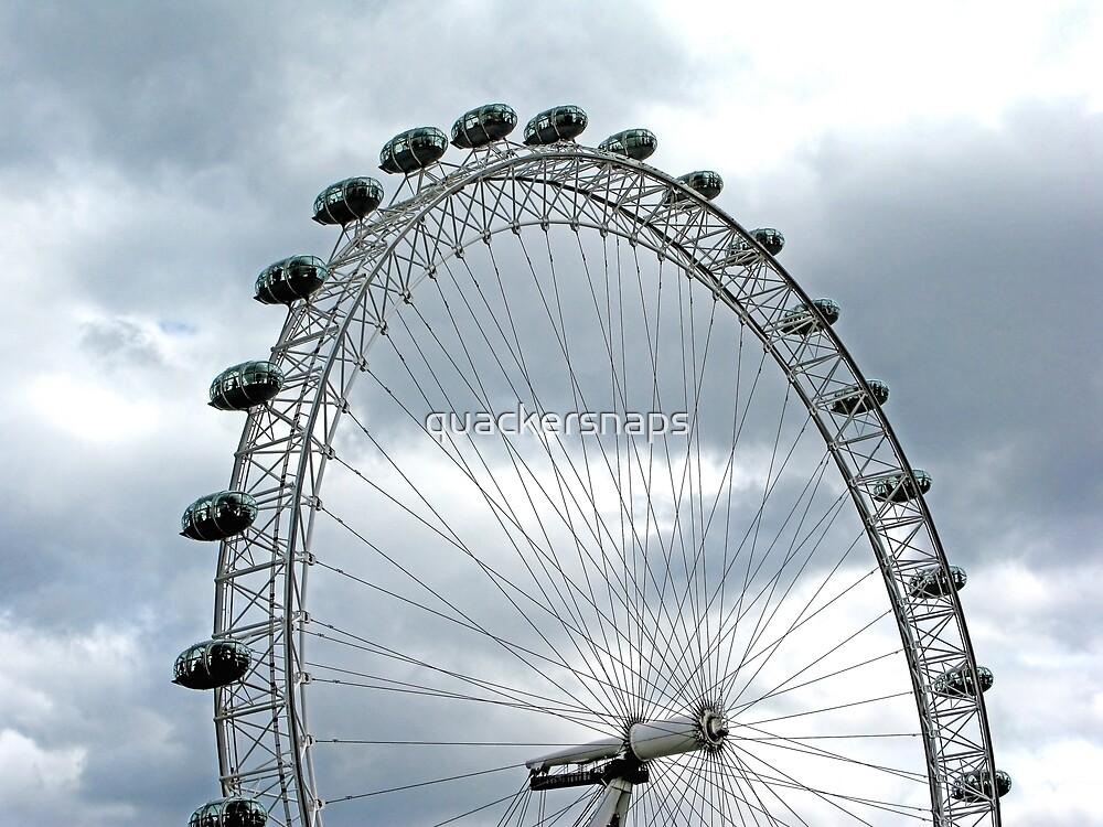 London Eye by quackersnaps