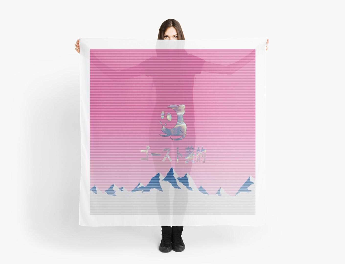 Aesthetic Vaporwave Super Ghost by RMorra