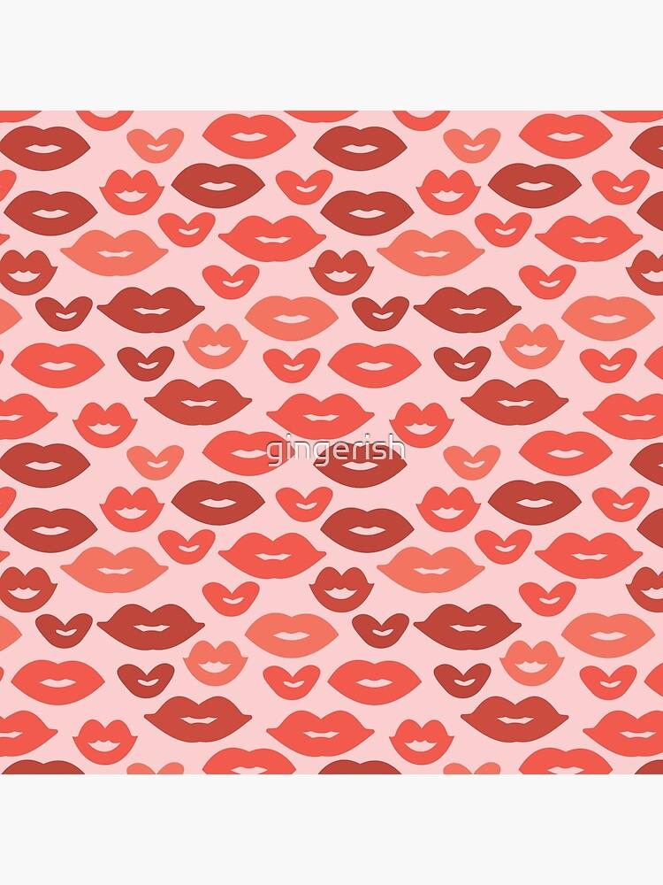 Kisses! by gingerish