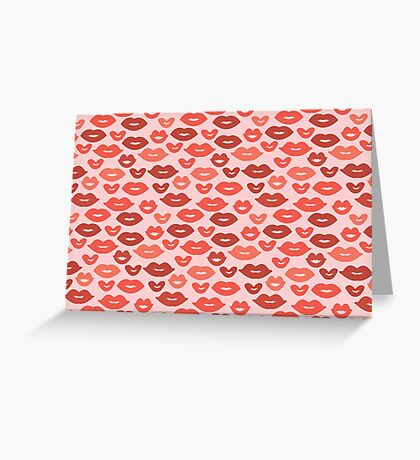 Kisses! Greeting Card