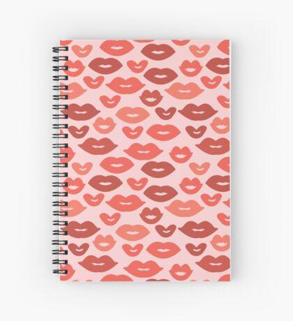 Kisses! Spiral Notebook