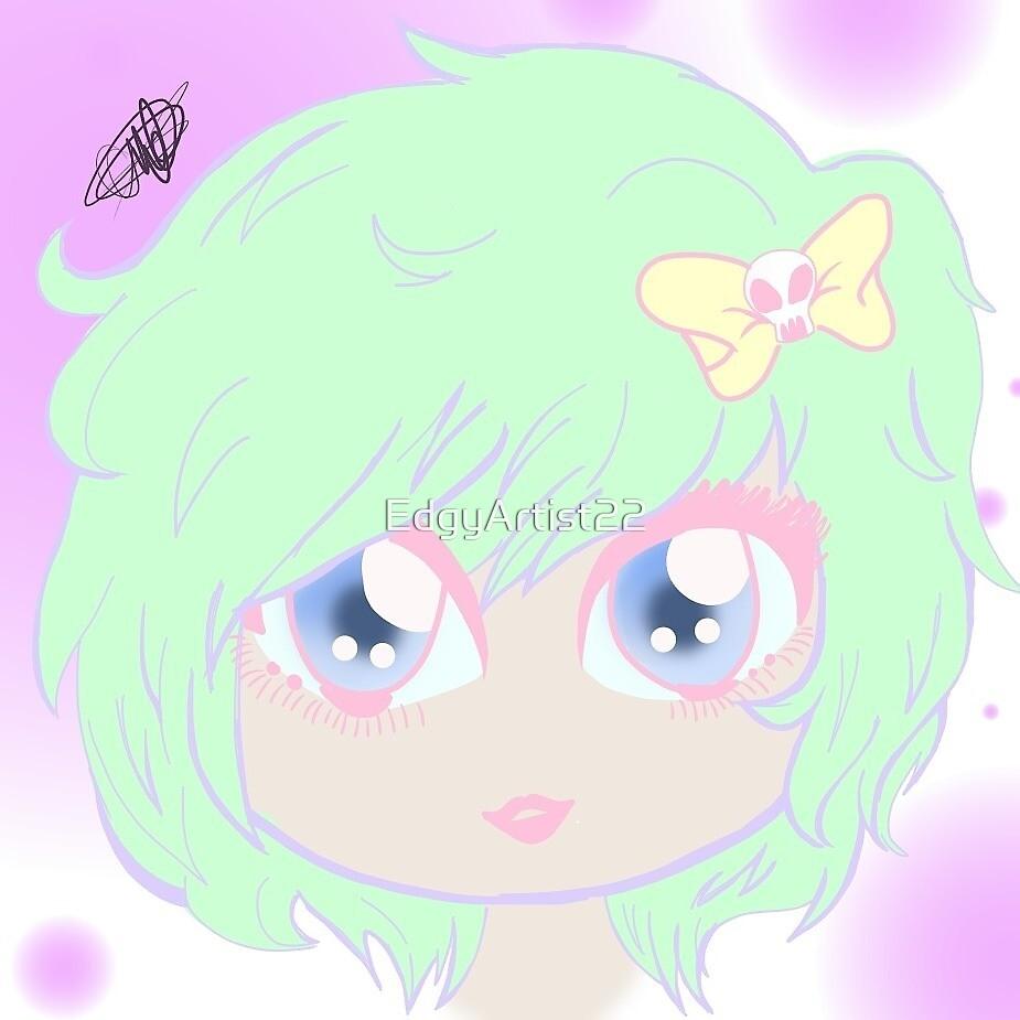 Pastel Doll by EdgyArtist22