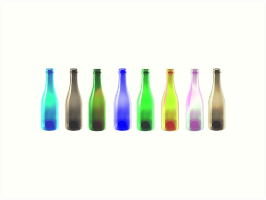 Bottles by SKETSIE