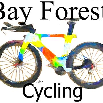 Bay Forest Cycling Tee by Tom SACHSE by TSachse