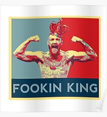 Conor the fookin King Poster